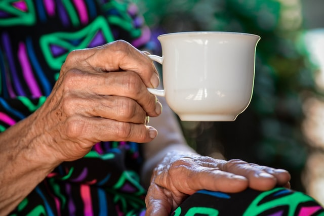 An Elder Enjoying Supportive Senior Care Services